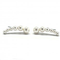 pearl ear crawler earrings 1