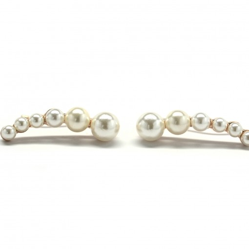 pearl ear crawler earrings 5