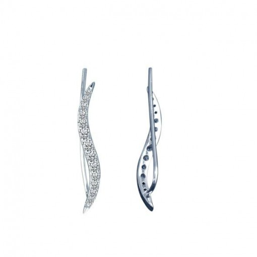 wave pave cz ear crawlers 2