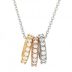 Three ring necklace 2