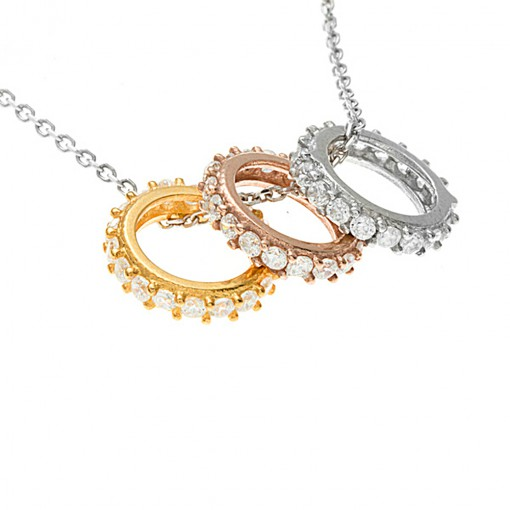 Three ring necklace 1