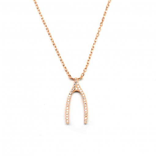 wishbone necklace 1