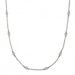 CZ by the yard necklace 2