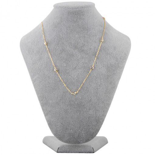 CZ by the yard necklace 5