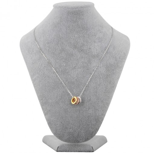 Three ring necklace 4