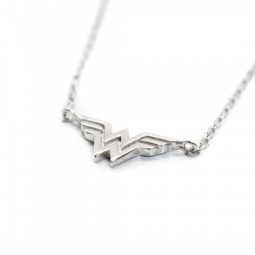 Wonder Woman Necklace rhodium 3