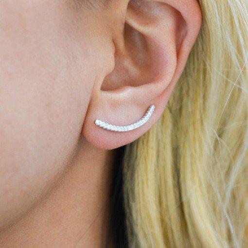 Skinny Bar Ear Climbers model